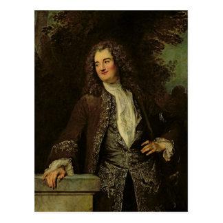 Portret van een Heer, of Portret van Jean Briefkaart