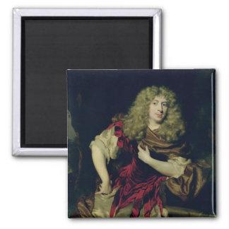 Portret van een Jong Man, 1676 Magneet