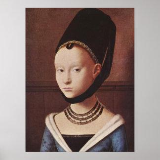 Portret van een Jong Poster van het Meisje