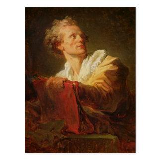 Portret van een Jonge Kunstenaar Briefkaart