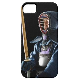 Portret van een Kendo Schermer 2 Barely There iPhone 5 Hoesje