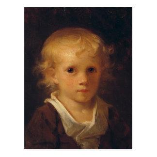 Portret van een Kind Briefkaart