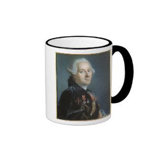 Portret van een Man 4 Koffie Bekers