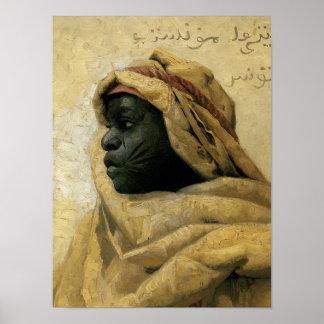 Portret van een Nubian Poster