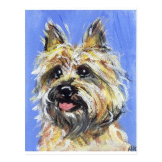 Portret van een Steenhoop Briefkaart