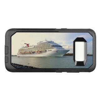 Portret van een Voorbijgaand Schip van de Cruise OtterBox Commuter Samsung Galaxy S8 Hoesje