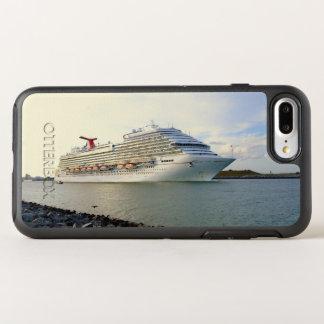 Portret van een Voorbijgaand Schip van de Cruise OtterBox Symmetry iPhone 8 Plus / 7 Plus Hoesje