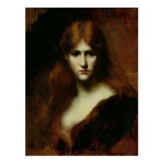 Portret van een Vrouw 2 Briefkaart