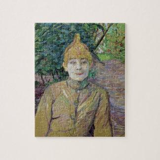 Portret van een vrouw, misschien de Franse danser  Puzzels