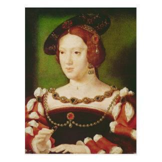 Portret van Eleanor van Hapsbourg Briefkaart