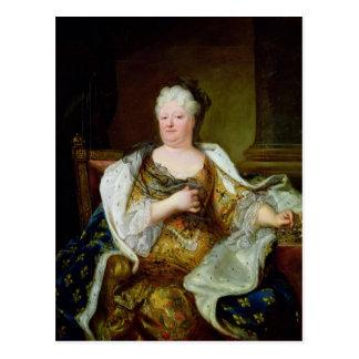 Portret van Elizabeth Charlotte van Beieren Briefkaart