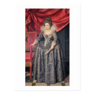Portret van Elizabeth de dochter van van Frankrijk Briefkaart