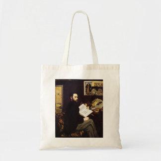 """Portret van Emile Zola' Draagtas"