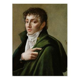 Portret van Etienne-Henri Mehul 1799 Briefkaart