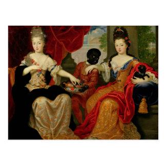 Portret van Francoise-Marie DE Bourbon Briefkaart