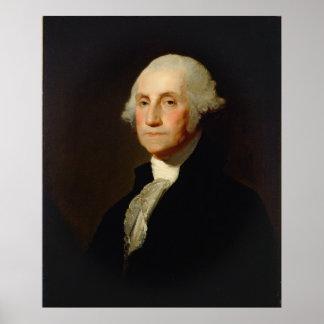 Portret van George Washington Gilbert Stuart Poster