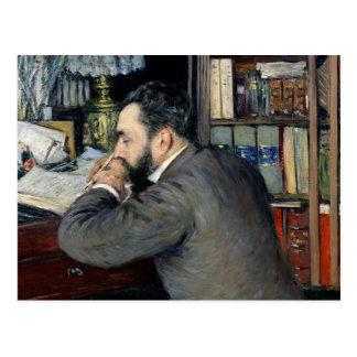 Portret van Henri Cordier Briefkaart