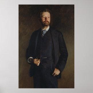 Portret van Henry Cabot Lodge door JS Sargent Poster