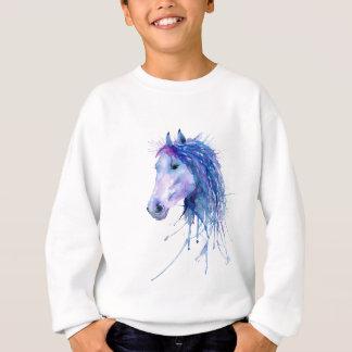Portret van het Paard van de waterverf het Trui