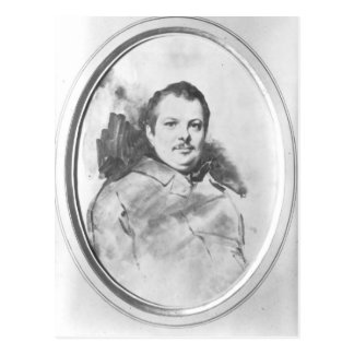 Portret van Honore DE Balzac c.1820 Briefkaart
