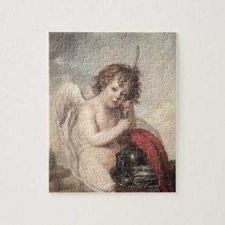 Portret van HoofdOswald Fawcett als Cupido (olie Puzzels