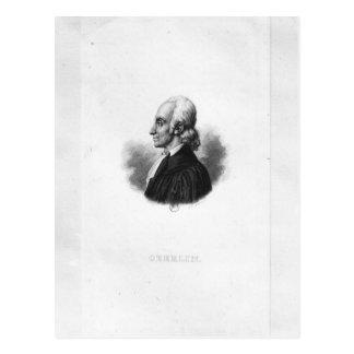 Portret van Jean Frederic Oberlin Briefkaart