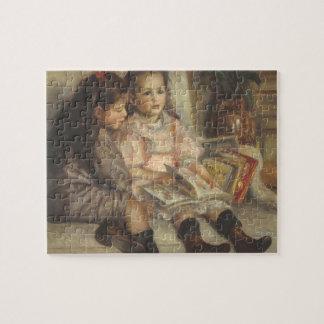 Portret van Kinderen Caillebotte door Pierre Puzzel