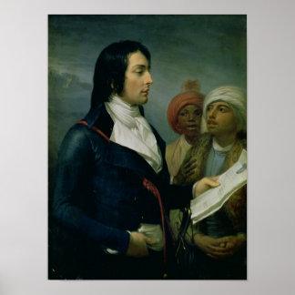 Portret van Louis Charles Antoine Desaix Poster