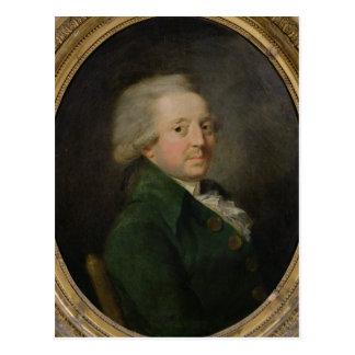 Portret van marie-Jean-Antoine-Nicolas Briefkaart