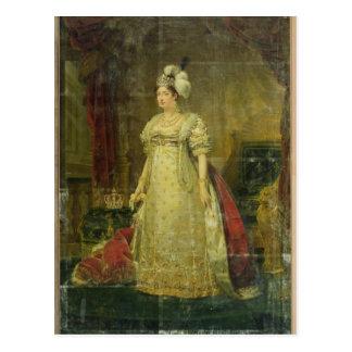 Portret van marie-Therese-Charlotte DE Frankrijk Briefkaart