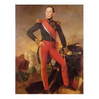 Portret van Marquis Emmanuel DE Grouchy Briefkaart