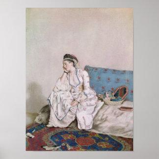 Portret van Mary Gunning Poster