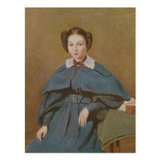 Portret van Mevrouw Baudot, de Nicht van de Briefkaart