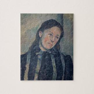 Portret van Mevrouw Cezanne met Losgemaakt Haar, 1 Puzzel