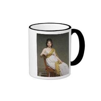 Portret van Mevrouw Raymond de Verninac 1798-99 Koffie Beker