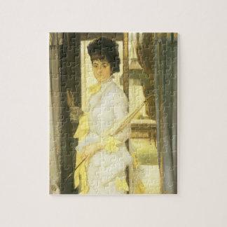 Portret van Misser Lloyd door Tissot, Vintage Fine Puzzel