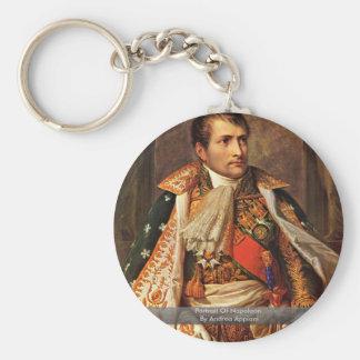 Portret van Napoleon door Andrea Appiani Sleutelhanger