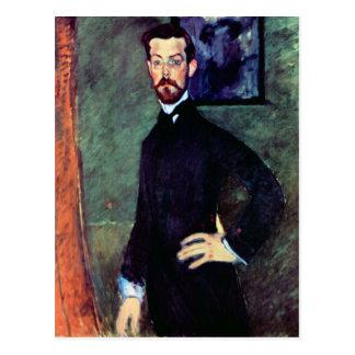 Portret van Paul Alexanders door Modigliani Briefkaart