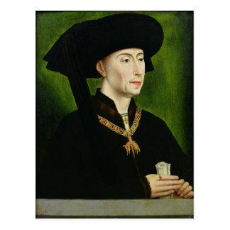 Portret van Philippe le Bon Duc DE Bourgogne Briefkaart