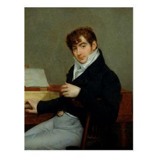 Portret van Pierre Zimmermann 1808 Briefkaart