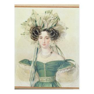 Portret van Prinses Elizabeth Vorontsova Briefkaart