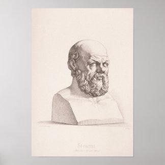 Portret van Socrates Poster