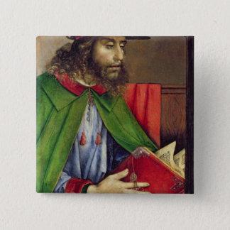Portret van Solon c.1475 Vierkante Button 5,1 Cm