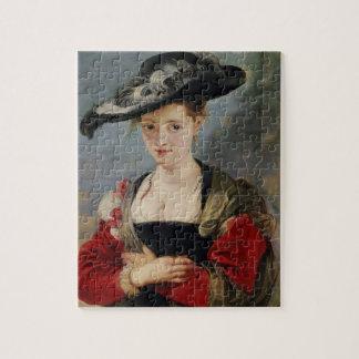 Portret van Susanna Lunden (?) (de Emmer van Le Ch Foto Puzzels