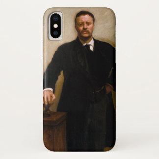 Portret van Theodore Roosevelt door Sargent iPhone X Hoesje