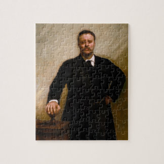Portret van Theodore Roosevelt door Sargent Legpuzzel