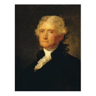 Portret van Thomas Jefferson Briefkaart
