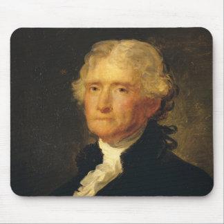 Portret van Thomas Jefferson Muismat