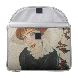 Portret van Wally door Egon Schiele Sleeve Voor MacBooks