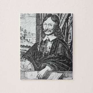 Portret van William Lilly (1602-81), van zijn 'Chr Foto Puzzels